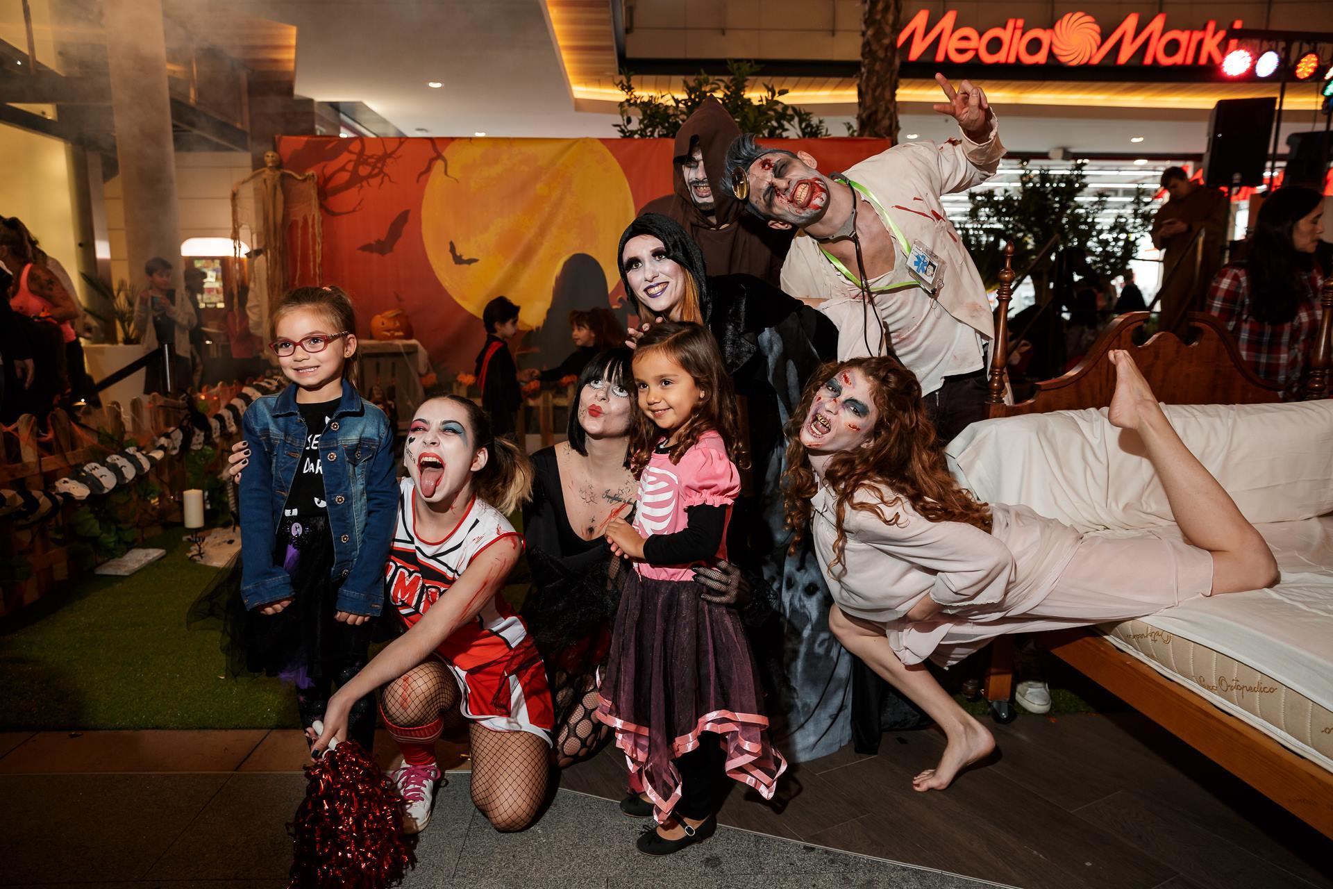¡Un Halloween Diver-terrorífico!